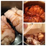 chicken chashu cooking