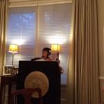 Hiroko podium