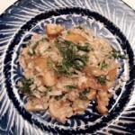 Conch risotto